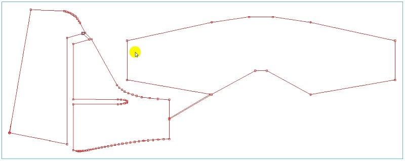 Association de la dérive et du stabilisateur en Dépron dans le logiciel de la machine de découpe fil chaud